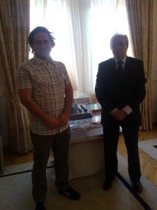 Mayor of Banja Luka and I