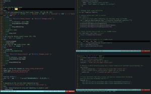 vim-hue running on MacOS (iTerm2)
